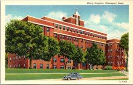 Iowa Davenport Mercy Hospital Curteich - Davenport