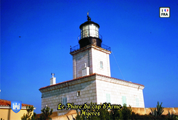 Set 6 Cartes Postales, Phares, Lighthouses Of Europe, France,  Hyères, Le Phare Du Cap D'Arme - Vuurtorens