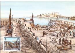 GUERNSEY FDC   MAXIMUM POST CARD     (GENN201013) - Guernesey