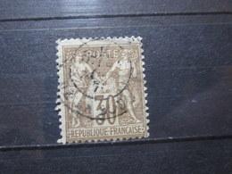 """VEND BEAU TIMBRE DE FRANCE N° 69 , OBLITERATION """" PARIS - PL. DE LA BOURSE """" !!! (d) - 1876-1878 Sage (Type I)"""