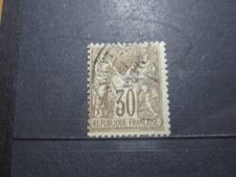 """VEND BEAU TIMBRE DE FRANCE N° 69 , OBLITERATION """" PARIS - PL. DE LA BOURSE """" !!! (i) - 1876-1878 Sage (Type I)"""