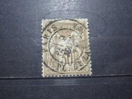 """VEND BEAU TIMBRE DE FRANCE N° 69 , OBLITERATION """" PARIS - PL. DE LA BOURSE """" !!! (j) - 1876-1878 Sage (Type I)"""