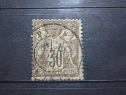"""VEND BEAU TIMBRE DE FRANCE N° 69 , OBLITERATION """" PARIS - PL. DE LA BOURSE """" !!! (m) - 1876-1878 Sage (Type I)"""