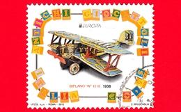 ITALIA - Usato - 2015 - Europa - Antichi Giocattoli - Biplano W 1218 - 0,95 - 2011-...: Usati