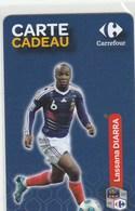 CARTE CADEAU   CARREFOUR  AVEC  LASSANA DIARRA - France