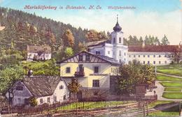 Seltene Alte AK   GUTENSTEIN / NÖ  - Teilansicht - 1918 Gelaufen - Gutenstein
