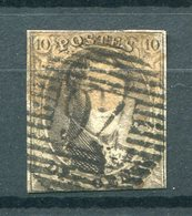 Belgien Nr.3 B          O  Used           (966) - 1849-1850 Medallions (3/5)