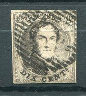 Belgien Nr.3 B          O  Used           (967) - 1849-1850 Medallions (3/5)