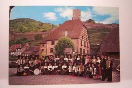 "KAYSERSBERG   -  L'ACCORDEON-CLUB  Folklorique  "" ECHO DU CHATEAU ""       - ( Pas De Reflet Sur L'original ) - Kaysersberg"
