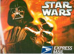 Lot 3 Enveloppes Préaffranchies Grand Format Express Mail Star Wars Obl 1er Jour Kansas City 06/05/2007 - 2001-10