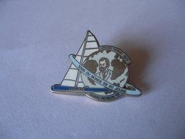 Bateau Voilier Explorer Jules Verne 1873  Bruno Peyron 92   80 Jours Autour Du Monde - Boats