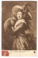 MK 56 OLD POSTCARD  , FINE ART , PAINTINGS , MUSEE DU LOUVRE  , VIGEE-LE BRUN , Portrait De Mme Molé Raymond - Museum