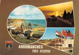Arromanches (14) - Port Winston - Multivues - Arromanches
