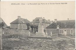 Carte Postale Ancienne De Reveillon Le Monument De La Grande Guerre 14-18 - France