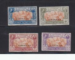 Italie Cirenaica 1923 Yvert 1 / 4 * Neufs Avec Charnieres. (2075t) - Cirenaica