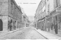 ORNANS - Grande Rue - Très Bon état - France