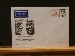 86/000  ENVELOPPE  ALLEMANDE - De Gaulle (General)