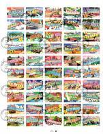 Feuille Etats Des Etats-Unis Obl 1er Jour New York 25/10/2002 - Fogli Completi