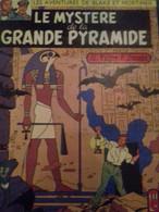 Le Mystère De La Grande Pyramide Tome 1 Et Tome 2 EDGAR P JACOBS Dargaud 1969 - Blake Et Mortimer
