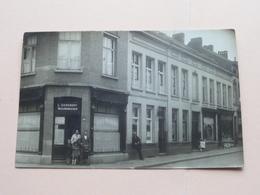 Café RUBENS ( L. Vervoort - Nieuwenhuysen ) ( Fotokaart Fr. Van Camp BORGERHOUT) Anno 19?? ( Zie Foto's Voor Detail ) ! - Lieux