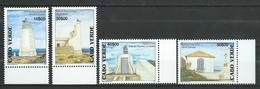 Cabo Verde 2004 Lighthouses. MNH - Kap Verde