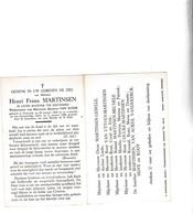 SCHIPPER - VISSER H.MARTINSEN °OOSTENDE 1909 + 1966 (A.VAN ACKER) - Images Religieuses