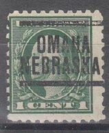 USA Precancel Vorausentwertung Preo, Locals Nebraska, Omaha 1914-204 - Vereinigte Staaten