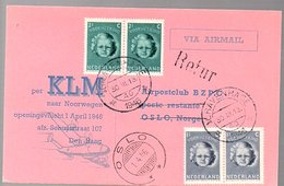 1st Post-war Flight 1946 > Norway Oslo (FU-3) - 1891-1948 (Wilhelmine)