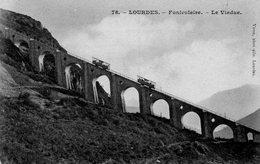 LOURDES - Funiculaire - Le Viaduc - - Lourdes