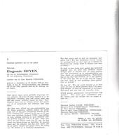 Vissersvrouw Eugenie Beyen °ADINKERKE 1890 +OOSTENDE 1982 (H.VERLEENE) - Images Religieuses