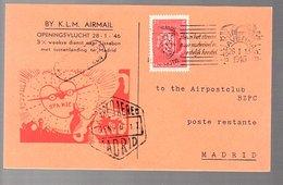 1st Post-war Flight 1946 > Lissabon Portugal (FU-5) - 1891-1948 (Wilhelmine)