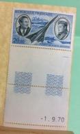 Coin Daté 1.9.1970 Saint Expéry - 1970( Neuf (Y&T N°44)(bleu Et Gris Bleu) - Coté 9€ (Tous De Bonne Qualité Garantie) - 1960-.... Postfris