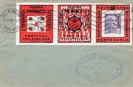 Gandon Lettre à 5 F Non Close Du 20/5/1952 Tarif Des Imprimés Porte Timbre Reinatex - Marcophilie (Lettres)
