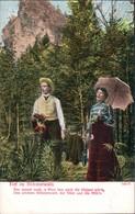 Ansichtskarte  Liebes Gedichte/Sprüche: Tief Im Böhmerwald 4 1905 - Filosofie