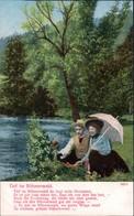 Ansichtskarte  Liebes Gedichte/Sprüche: Tief Im Böhmerwald 5 1905 - Filosofie