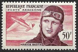 FRANCE  1955 -  PA  34 - Maryse Bastié   - NEUF** - Cote 8e - Airmail