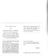 Stoker Bij Het Staatszeewezen  O.DECLERCK °BREDENE 1894 +OOSTENDE 1971 (S.DEETENS) - Images Religieuses