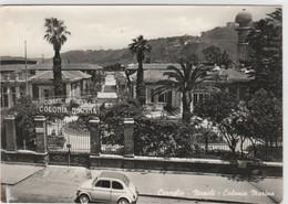 Cartolina - Postcard /   Viaggiata - Sent /  Coroglio, Colonia Marina.  ( Gran Formato ) - Napoli