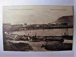 UNITED KINGDOM - NORTH IRELAND - GLENARIFFE - Red Bay Harbour And Sands - Antrim / Belfast