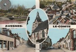 62 - Carte Postale Semi Moderne Dentelée  De   AVESNES LE COMTE   Multi Vues - Avesnes Le Comte