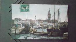 59CARTE DE DUNKERQUEN° DE CASIER A 83 VIERGE - Dunkerque