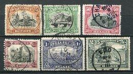 Belgien Nr.121/6          O  Used          (1039) - 1915-1920 Albert I