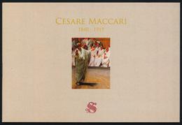 ITALIA/ITALY 2019 Cesare Maccari - LIBRETTO,  Contiene Il Foglietto Numerato - 6. 1946-.. Republic