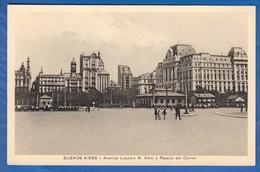 Argentina; Buenos Aires; Avenida Leandro N Alem; 1933 - Argentinien