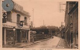 61 - Carte Postale Ancienne De  GACE   Route De Rouen - Gace