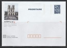 TSC MONUM PARIS NOTRE DAME  S/ LAMOUCHE - Listos A Ser Enviados: TSC Y Transplantados Semioficiales