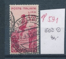 Italien  Nr.  502   O  (ef 591  ) Siehe Scan - 1900-44 Vittorio Emanuele III