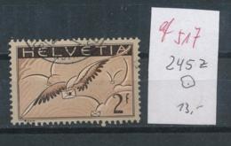 Schweiz Nr.  245   Z  O  ...  ( Ef517  ) Siehe Scan - Svizzera