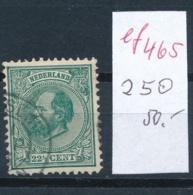 Niederlande Nr.  25 O   ...  ( Ef465   ) Siehe Scan - Period 1852-1890 (Willem III)