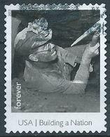 VERINIGTE STAATEN ETATS UNIS USA 2013 BUILDING A NATION: COAL MINER F USED SC 4801G MI 4989 YV 4628 SG 5430G - Estados Unidos